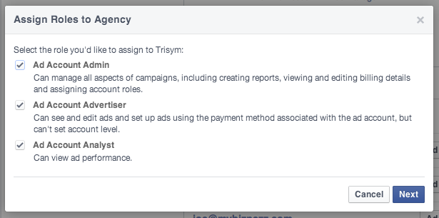 Facebook Business Manager - Add Agency Access to Ad Accounts